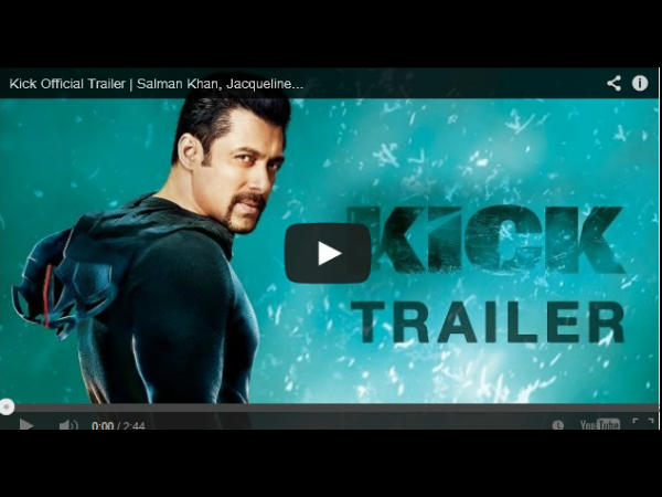 Kick Movie Official Trailer Video Launch