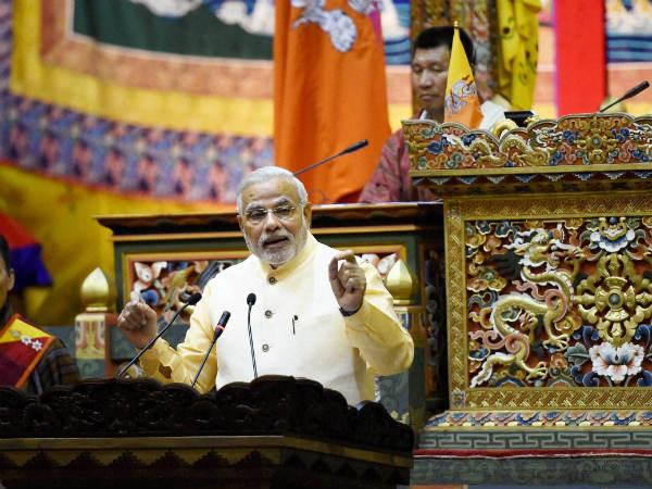 Why Narendra Modi Selected Bhutan First Foreign Tour