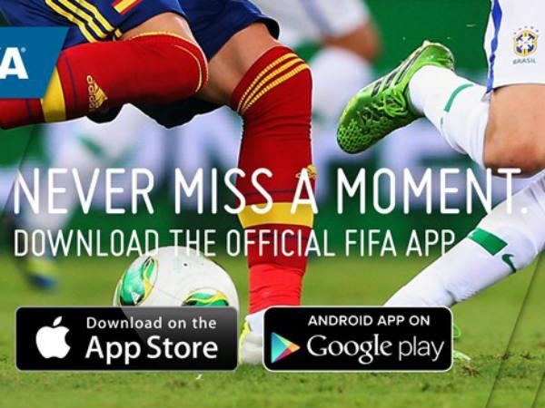 Fifa World Cup App Has Been Downloaded 1 8 Million Times Record