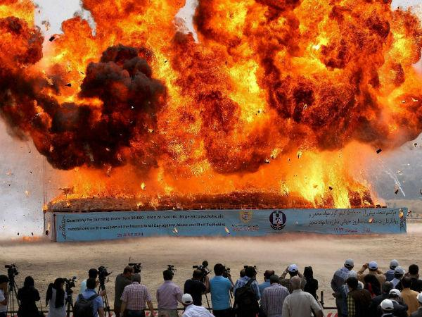 Fire At Gail Pipeline In Andhra Pradesh Three Feared Dead