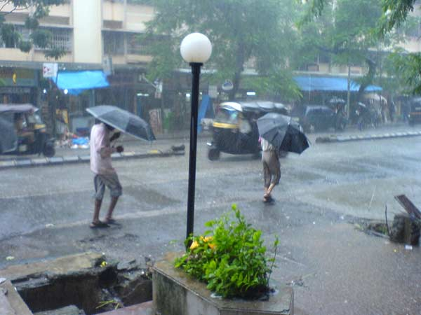 Good News Gujarat Rain Starts Mumbai