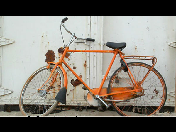 saffron-color-bicycle