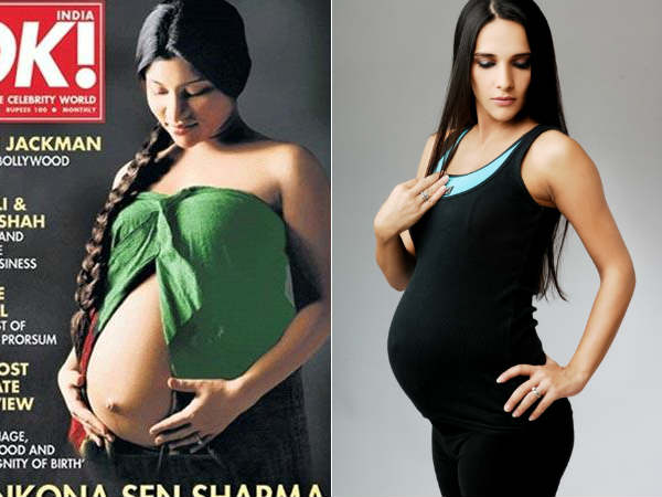 Bollywood Actresses Flaunted Baby Bump Public