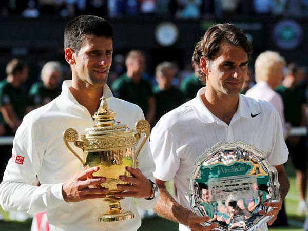 Novak Djokovic Defeats Roger Federer Wins Wimbledon Men S Final