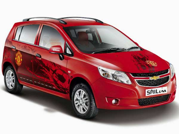 Chevrolet Beat Sail Manchester United Limited Editions Launched