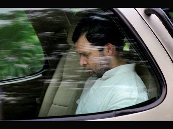 Video Rahul Gandhi Caught Sleeping During Price Rise Debate Lok Sabha