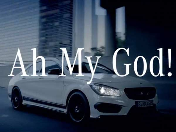 Mercedes Benz Launches Its Ah My God Campaign