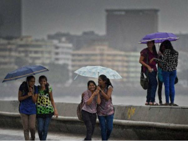 Happy Monsoon Messages Floating In Ahmedabad Surat Heavy Rain Forecast In Gujarat
