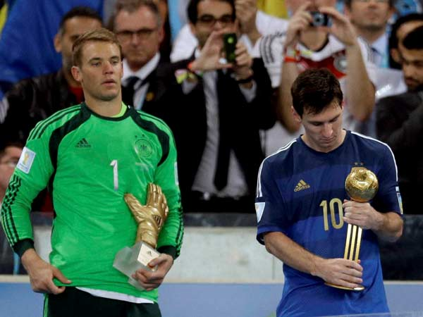 Messi Wins Golden Ball Rodriguez Takes Home Golden Boot