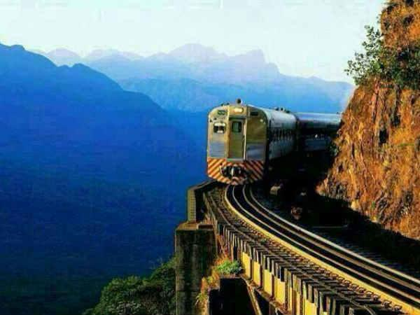 Jammu Delhi Katra Train Pics From Adventurous Mountain Track