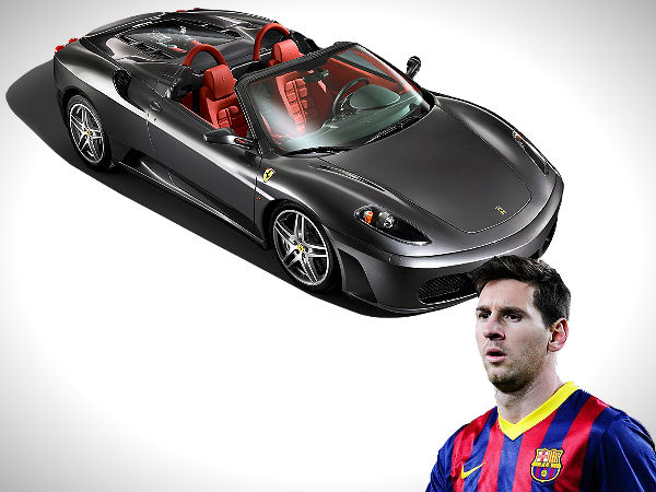 Lionel Messi S Car Collection From Audi Maserati
