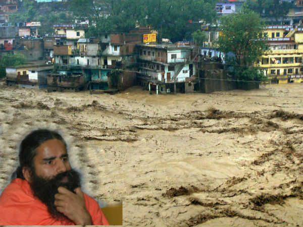 Baba Ramdev Stuck With 400 Others In Gangotri Due To Heavy Rain Road Blocked