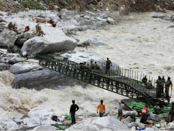 Uttarakhand Rivers Spate Again Hundreds Pilgrims Stranded