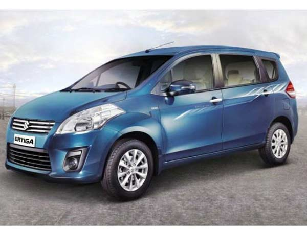 Maruti Launches Suzuki Ertiga Limited Edition