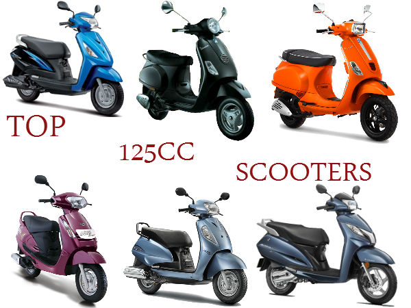 Top 125cc Scooter Comparison