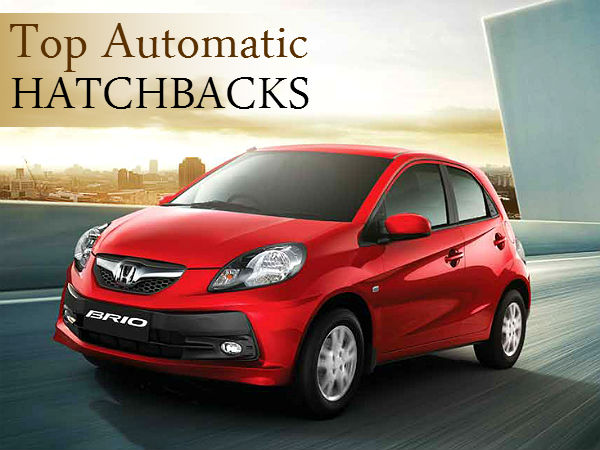 Top Best Automatic Hatchbacks India Price Features Comparison