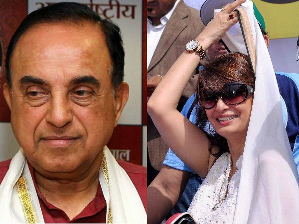 Dubai Mafia Killed Sunanda Pushkar Claims Subramanian Swamy