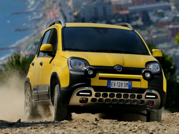 Fiat Launches The Panda Cross Compact Suv