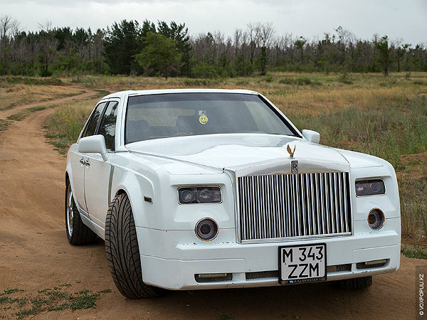 Mechanic Turns Mercedes Into Rolls Royce