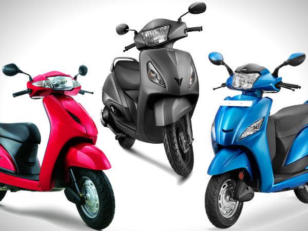 Tvs Jupiter Vs Honda Activa Vs Hero Maestro Brief Comparison