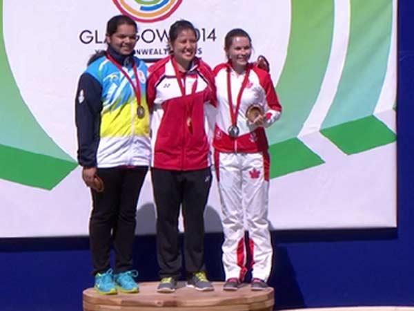Cwg Update Malaika Shoots Silver India