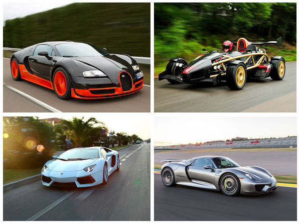 Top 10 Fastest Accelerating Cars The World
