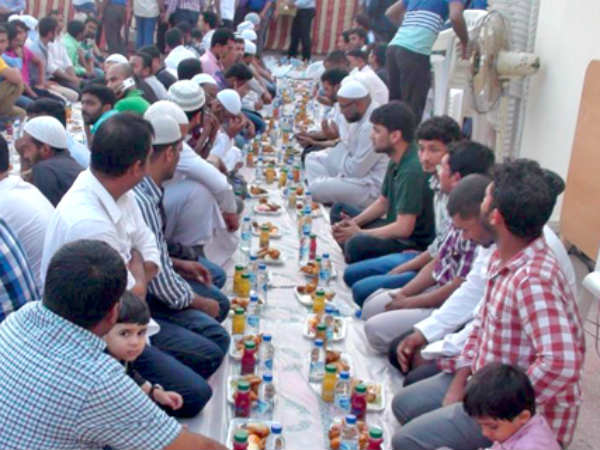 Rss Backed Iftar Parties Organized Eid Gujarat