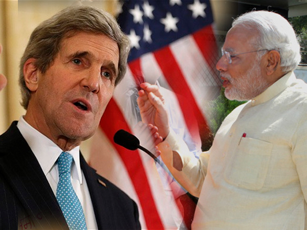 John Kerry Fully Supports Modi S Saffron Revolution