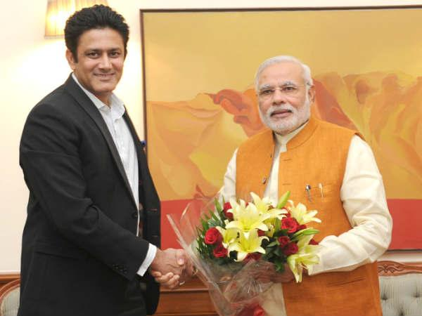 Anil Kumble Meets Narendra Modi But What Comes After