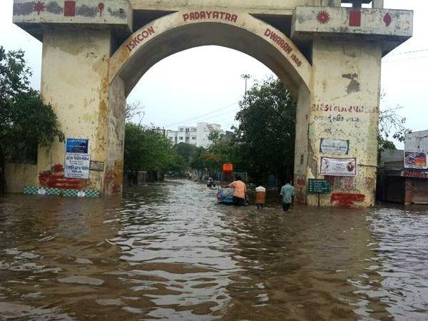 Gujarat Heavy Rain Noted In Dwarka And Keshod Of Saurashtra