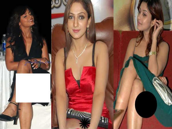Telugu Tollywood Actresses Wardrobe Malfunctions Photos
