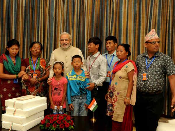 Modi Reunites Nepali Dharmaputra With His Family Who Is Jeet Bahadur