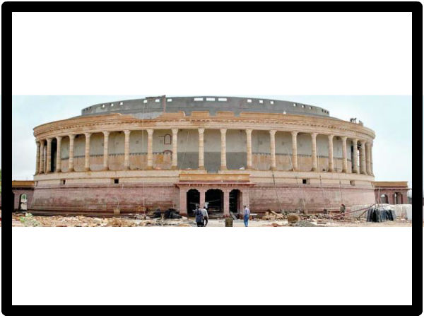 Second Indian Parliament Is Under Construction In Bhuj Of Gujarat