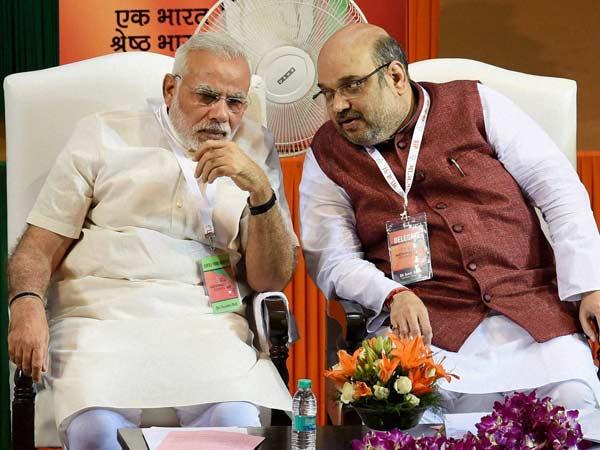 Narendra Modi Addresses Bjp National Council Meet