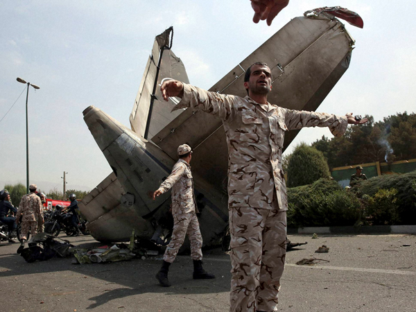 Plane Crashed Tehran 48 People Died