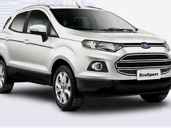 Ford Ecosport And Nissan Terrano And Renault Duster And Toyota Etios Cross