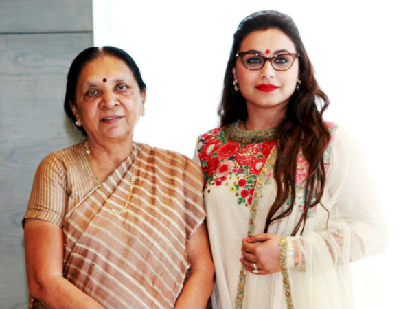 Bollywood Actress Rani Mukherjee Visited Ambaji Calls On Gujarat Cm Anandiben Patel