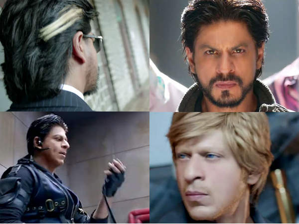 Shah Rukh Khans Different Stylish Looks In Happy New Year Trailer