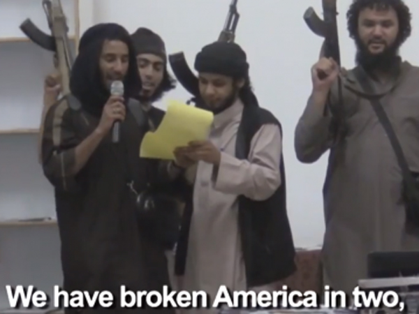 Isis Threatens America Again We Will Drown Of You Blood