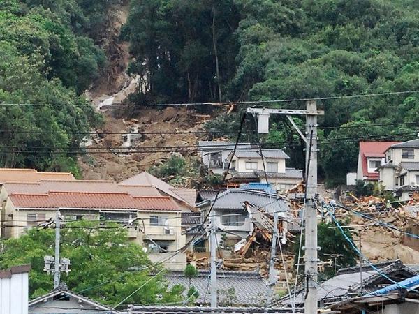 Japan Landslides Kill 32 Hiroshima Prefecture