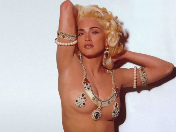 Madonna S Used Lingerie Go On Auction