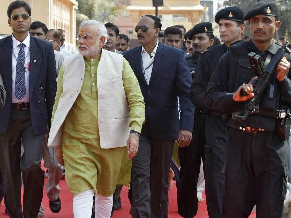 Narendra Modi S Security Further Tightened