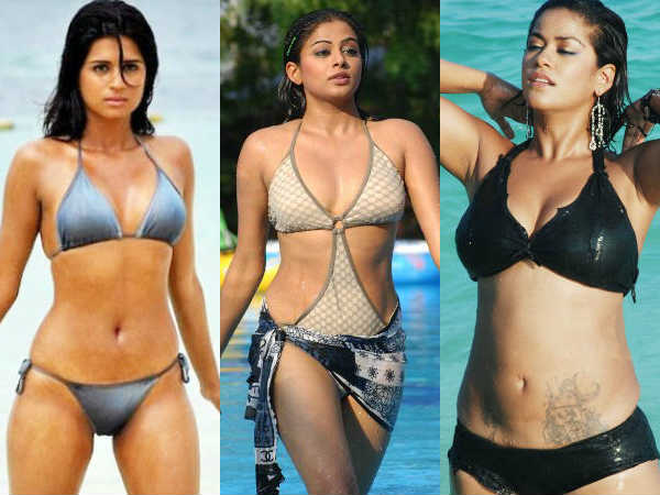 Hottest Tamil Actresses In Bikini Swimsuit