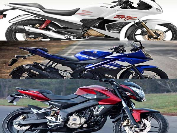 Bike Comparision Pulsar 200 Ns Vs Hero Karizma Zmr Vs Yamaha R