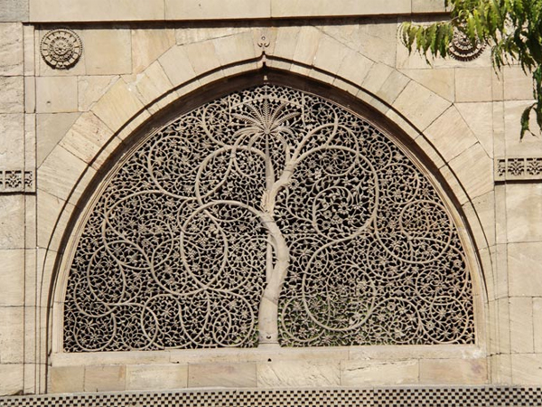 Sidi Sayeed Mosque Is Famous Beautifully Carved
