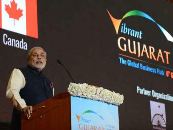 Narendra Modi To Open Seventh Edition Of Vibrant Gujarat Summit Anandiben Patel