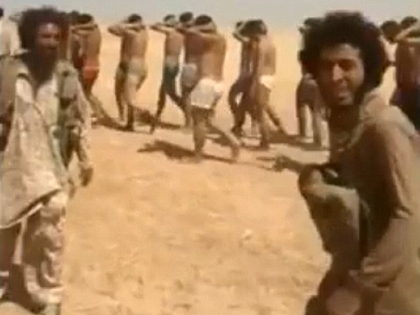 Isis Slaughter 250 Syrian Soldiers Desert Mass Execution