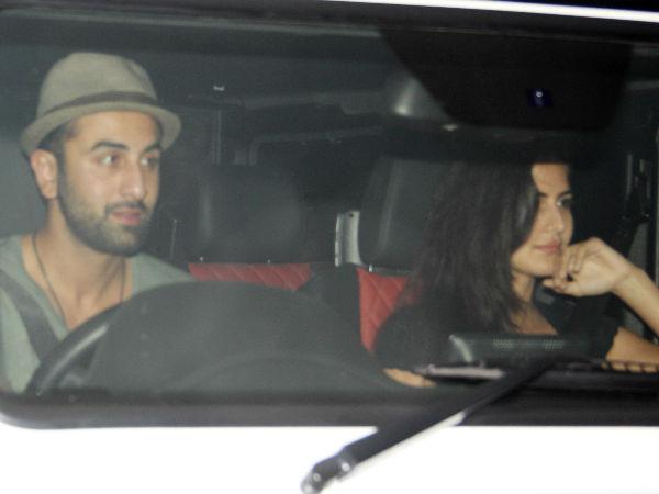 Ranbir Kapoor Katrina Kaif Karan Johar Residence