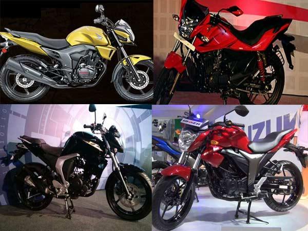 Suzuki Gixxer Vs Yamaha Fz Fi V2 0 Vs Honda Cb Trigger Vs Hero Xtreme
