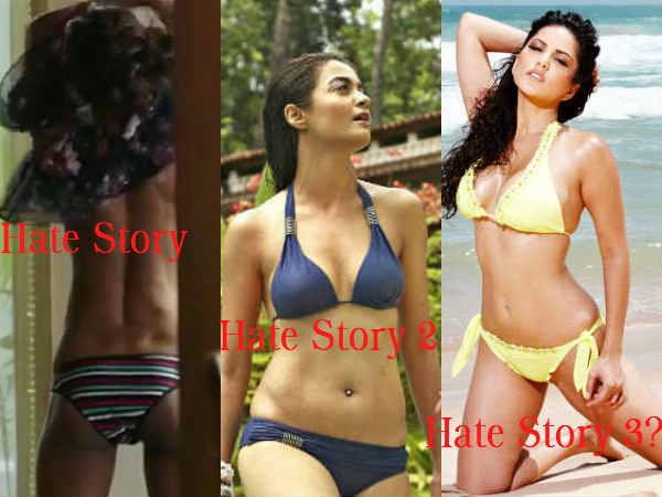 Sunny Leone Surveen Chawla Hate Story 3 Movie